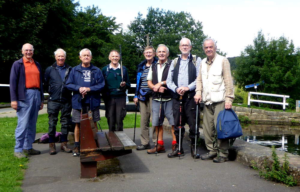 29th August Park, River & Canal, Bingley Pub: The Brown Cow, Bingley Leader: John