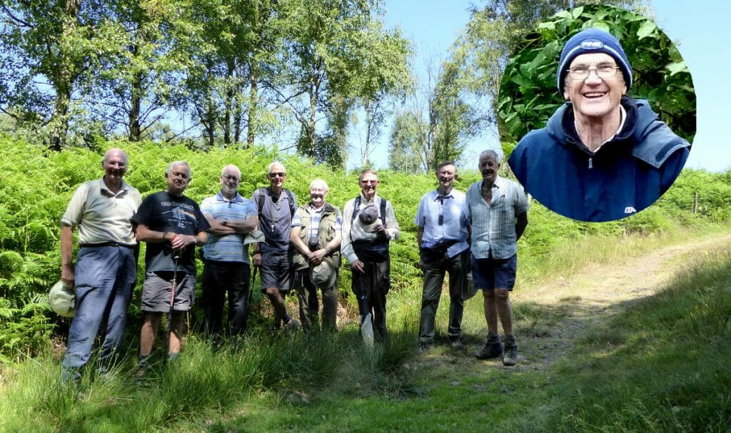 27th June Wharncliffe Woods, Grenoside Remembering Pete, a founder member Pub: Old Red Lion, Grenoside Leader: Dennis